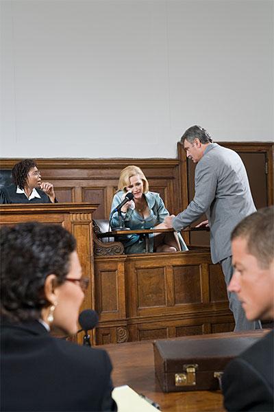 witness testimony in court